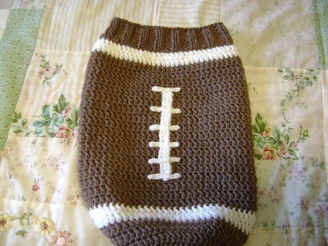 Free Crochet Pattern Football Cocoon Dancox For
