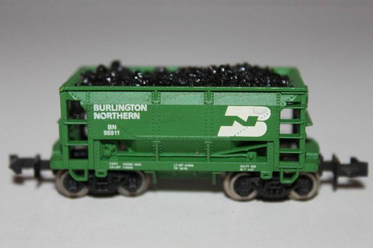 N scale burlington northern passenger cars