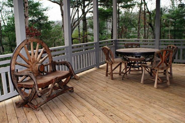 Wagon Wheel Furniture Lakota Cove Homes