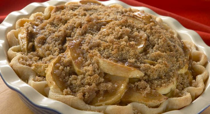 Streusel Layered Apple Pie | Recipe