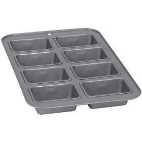 Mini loaf pan! Perfect for Petite Turkey Meatloaves.