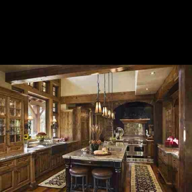 Beautiful Rustic Kitchen Decor Ideas Pinterest