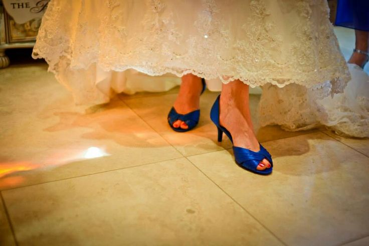 Blue bridal shoes from dsw my wedding pictures pinterest