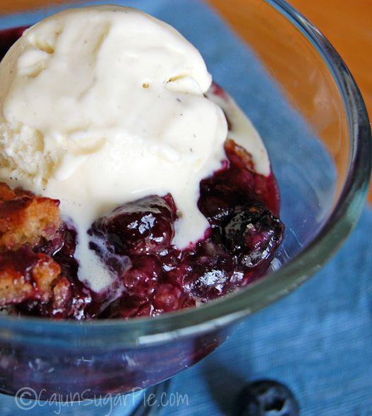 Blueberry Cobbler | Recipe
