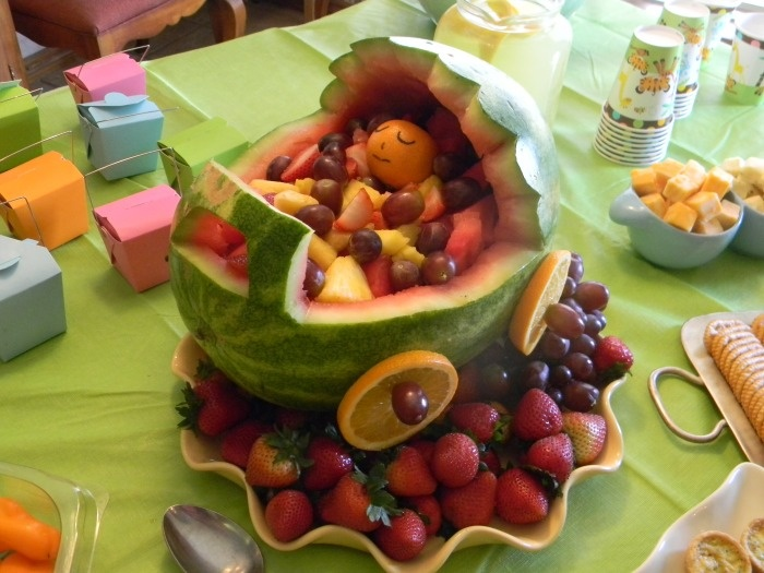 watermelon baby carriage how to video boy baby shower pinterest