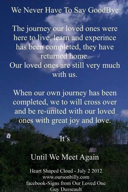 until we meet love poems