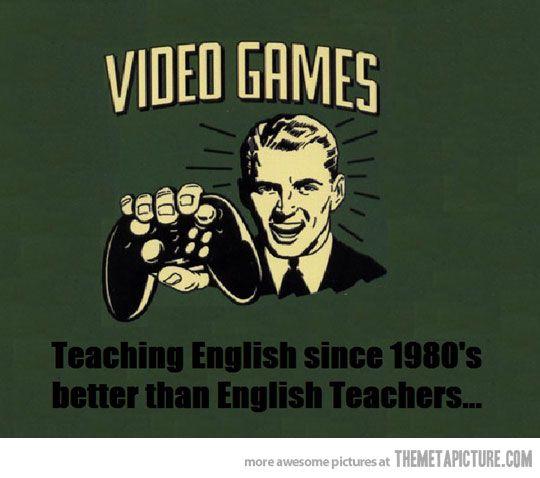 Better than English teachers