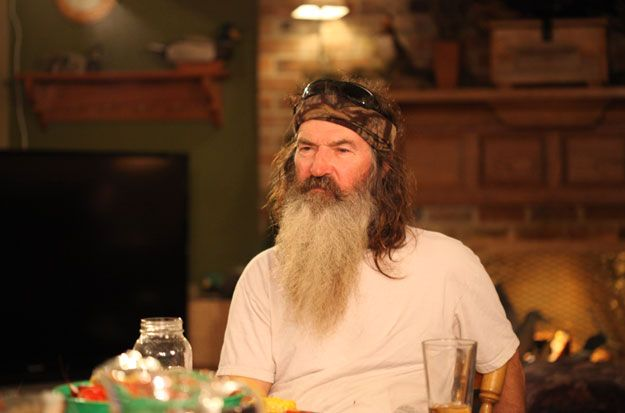 Phil Robertson of Duck Dynasty in my opinion is a great moral leader for his family.