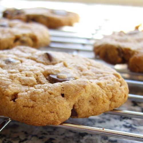 Easy Peasy Peanut Butter Chocolate Chip Cookies for Dairy-Free, Egg-F ...