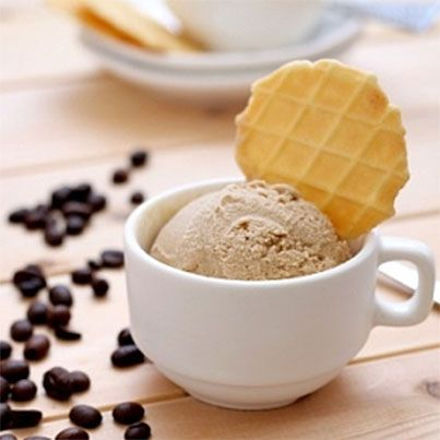 Black Coffee Ice Cream #DessertRecipes247