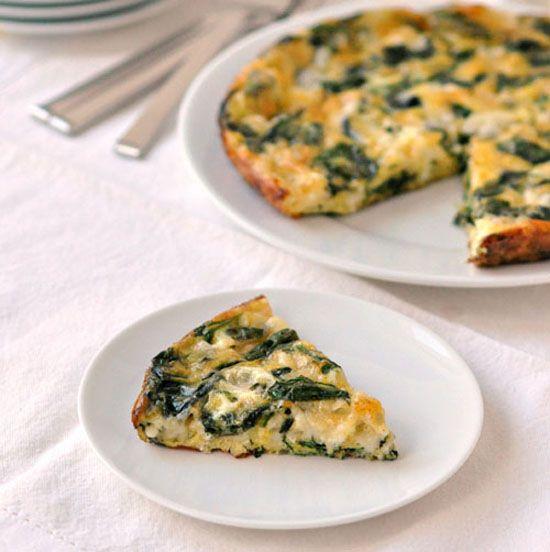 Spinach and Havarti Egg Bake | Recipe
