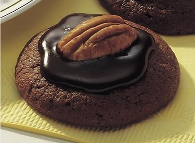 pecan topped chocolate cookie | cookie gift boxes | Pinterest