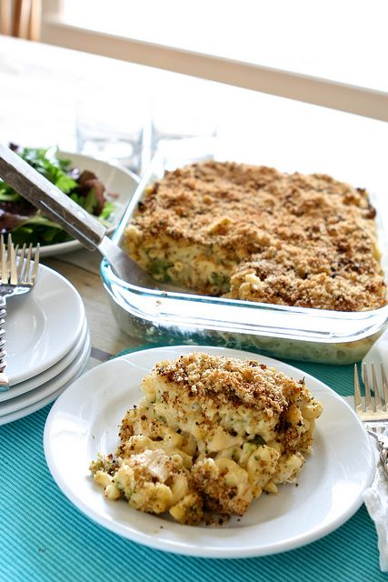 Chicken & Broccoli Macaroni and Cheese | food | Pinterest