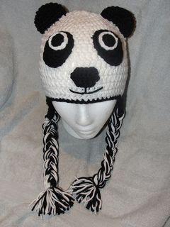 gorro oso panda