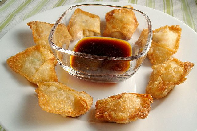 Fried Shrimp Wontons   Food! Desserts/ Snacks   Pinterest