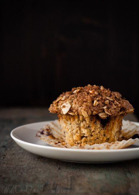 Blueberry Almond Streusel Muffins (Gluten-Free, with Vegan Option ...