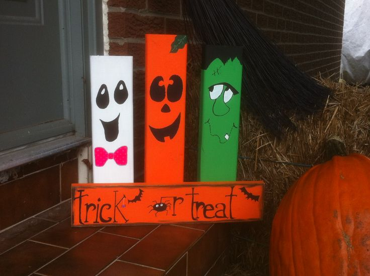 Halloween wood craft ideas youtube