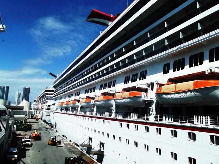 Carnival Cruise Port Miami Wallpaper  Punchaoscom