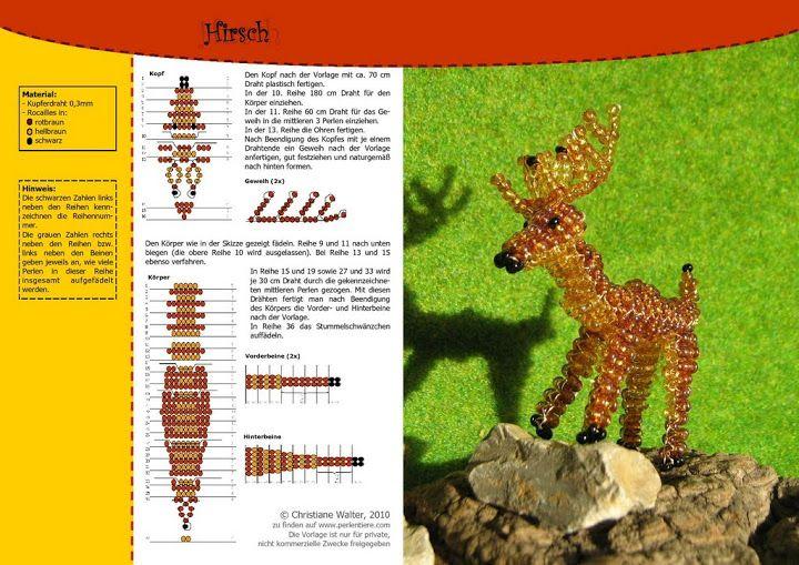 Схема плетения из бисера колибри