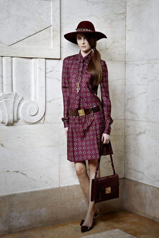 Womens Work Clothes Fashion: Ferragamo Pre-Fall 2012