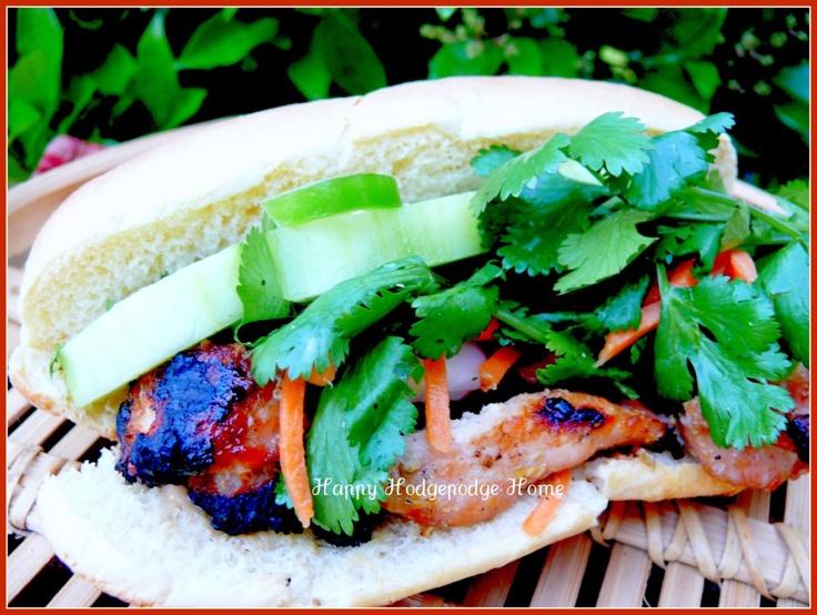 Lemongrass Pork Bahn Mi | Nom Nom Nom | Pinterest