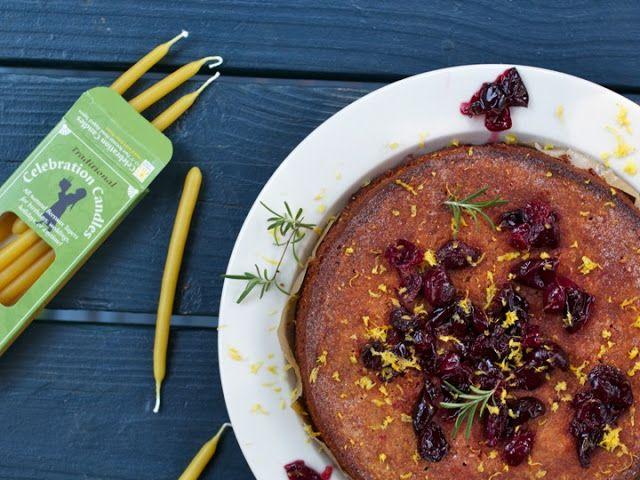Cherry, Rosemary & Honey Polenta Cake (Gluten-Free) | Cayuga St ...
