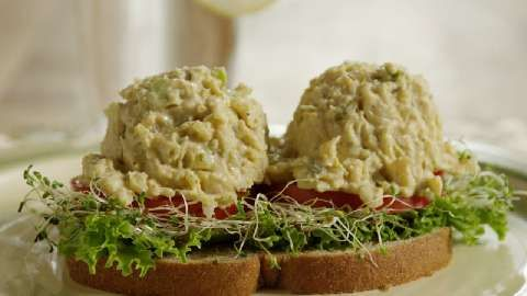 Mock Tuna Salad | See how to make a creamy chickpea spread that tastes ...