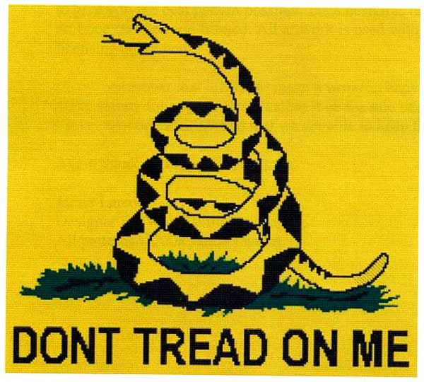 history of dont tread on me flag