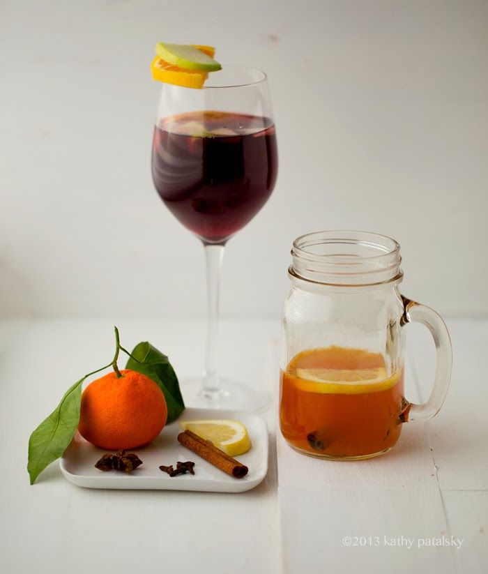 Seasonal Sips: Mulled Wine & Kathy's Hot Toddy. Cheers!