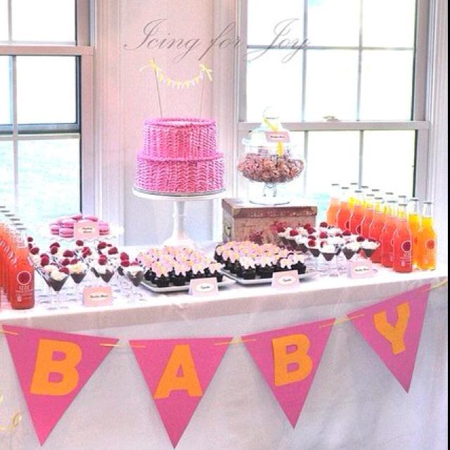 baby shower dessert table dessert table pinterest