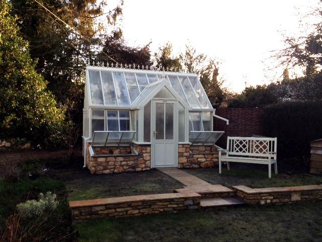 Victorian Backyard Structures : Victorian Terrace  Garden Structures  Pinterest