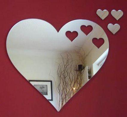 mirror heart shapes pinterest