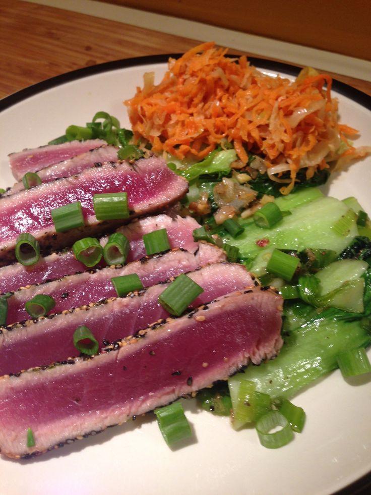 Seared Ahi Tuna | Fish Dishes | Pinterest