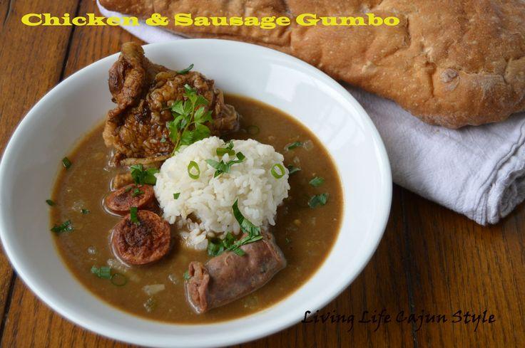 Cajun Chicken and Sausage Gumbo | Cajun Land | Pinterest