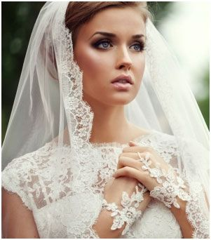 Gorgeous Lace Veil
