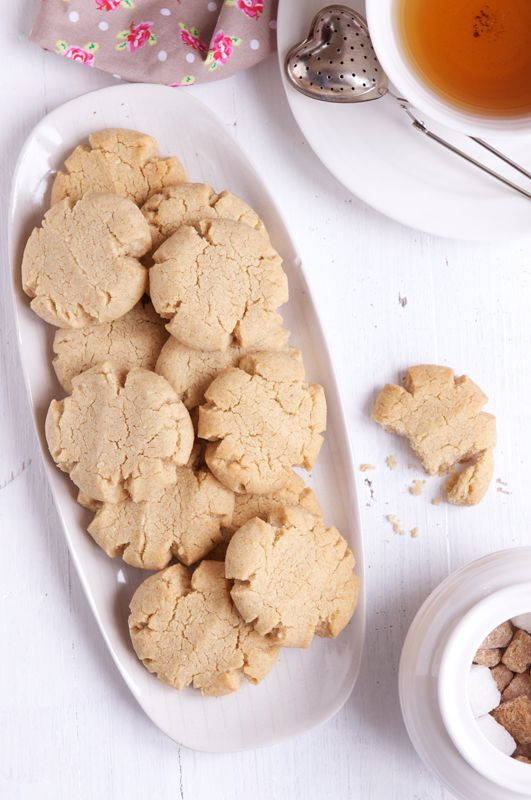 tahini-almond-cookies | Galletas/Cookies | Pinterest