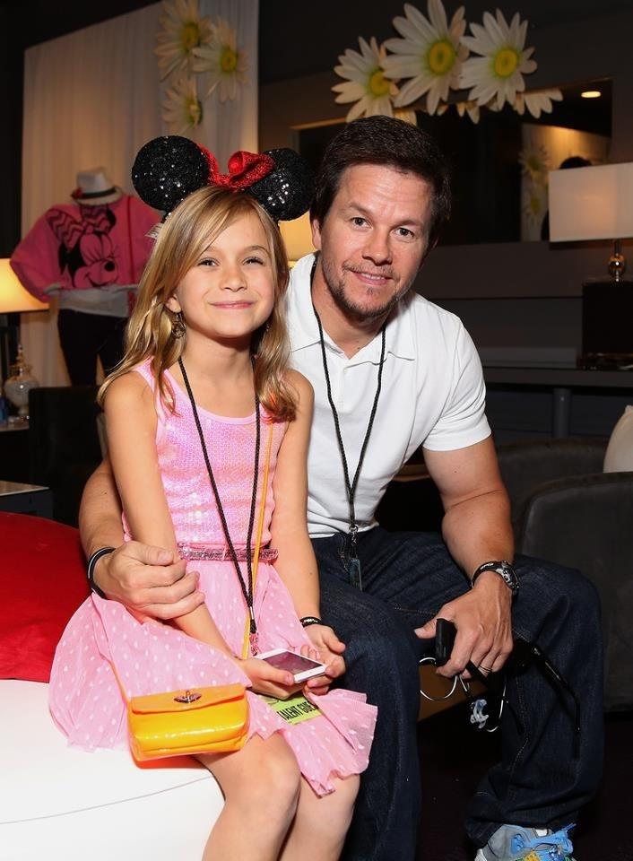 Mark & daughter, Emma. | Mark Wahlberg | Pinterest