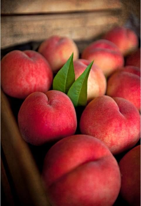 perfect peaches. scrumptious! | beautiful things | Pinterest