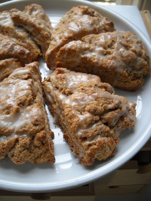 Cinnamon Scones   food   Pinterest