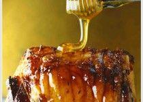 Honey Roast Pork Tenderloin | Main Dishes with Pork | Pinterest
