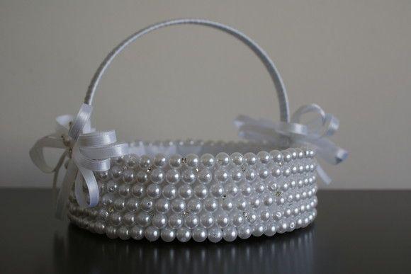 delete this cesta de perolas para florista r $ 11000 pearls pinterest