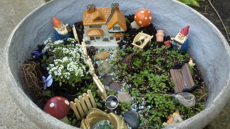 For The Fairy Garden Cast Iron Mushrooms From Hobby Lobby Mieko2 Images Frompo