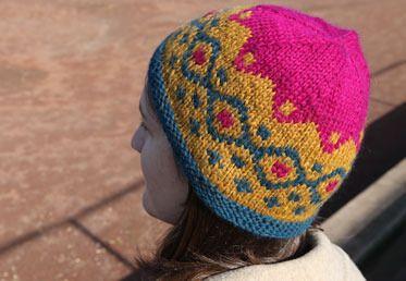 Fair Isle Knit Hat on Creativebug | Craft Ideas | Pinterest