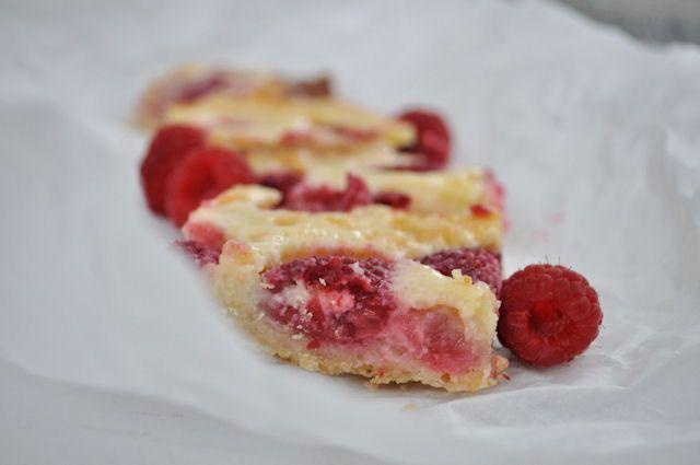Raspberry Custard Kuchen 2