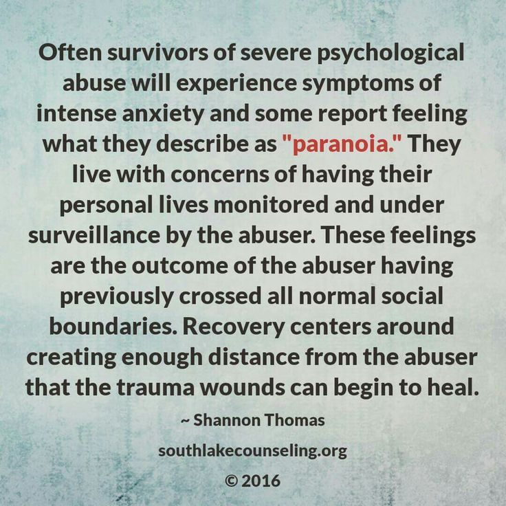 Healing from Hidden Abuse A Journey Through the Stages of - psychological report
