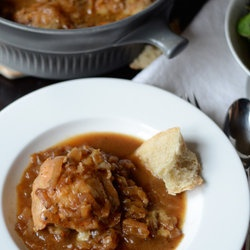 Braised French Onion Chicken with Gruyère — Punchfork