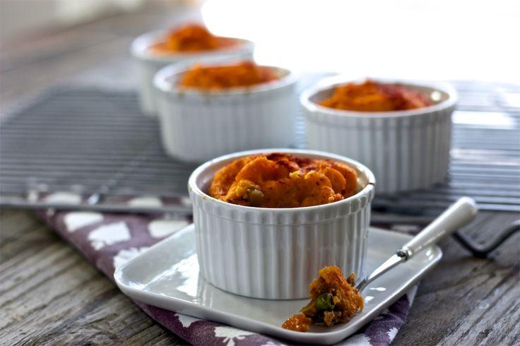 Turkey + Sweet Potato Mini Shepard Pie | Felix & Lucas | Pinterest