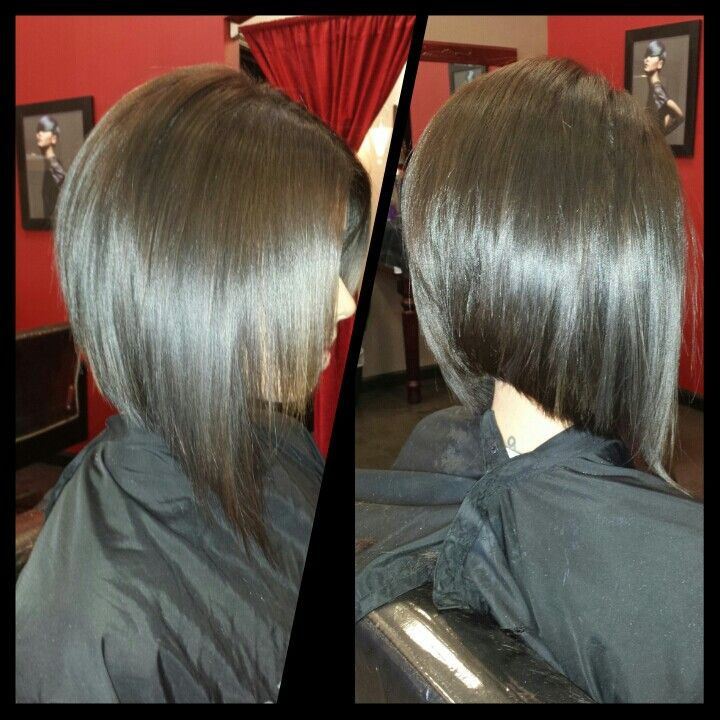 Concave Bob Haircut Back View | New Style for 2016-2017