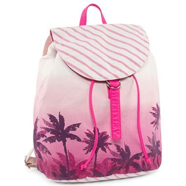 Arizona Canvas Rucksack Backpack - jcpenney