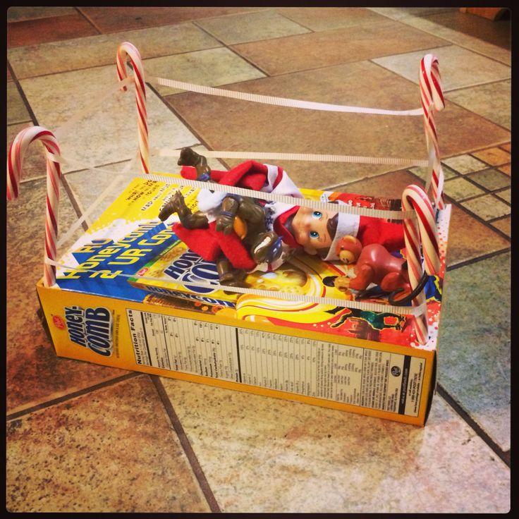 Elf on the shelf. Our best yet ;) | My own stuff. | Pinterest